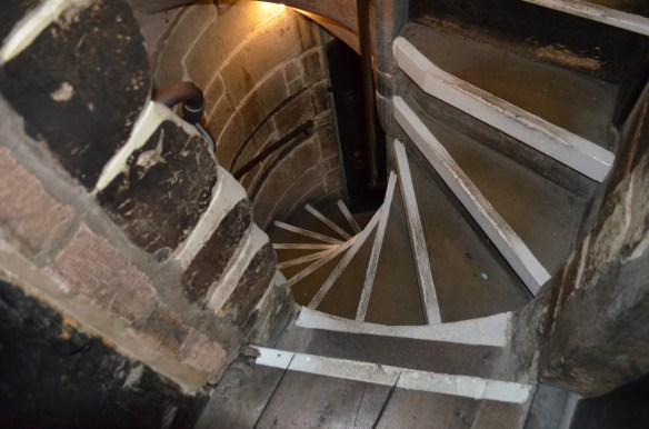 Coventry guild hall spiral stairs