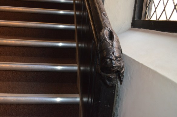 Coventry guild hall stair