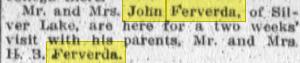 Ferverda news 1912 - 2