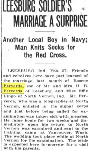 Ferverda news 1918