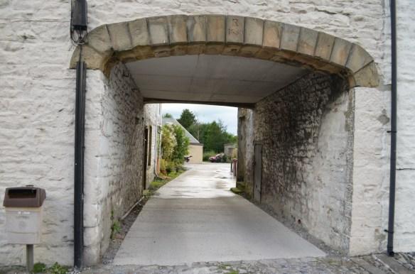Gisburn driveway under house 2