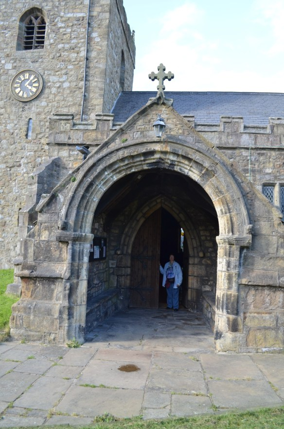 St Mary Gisburn porch