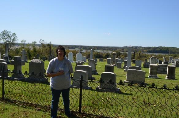 St Ignatius cemetery and me
