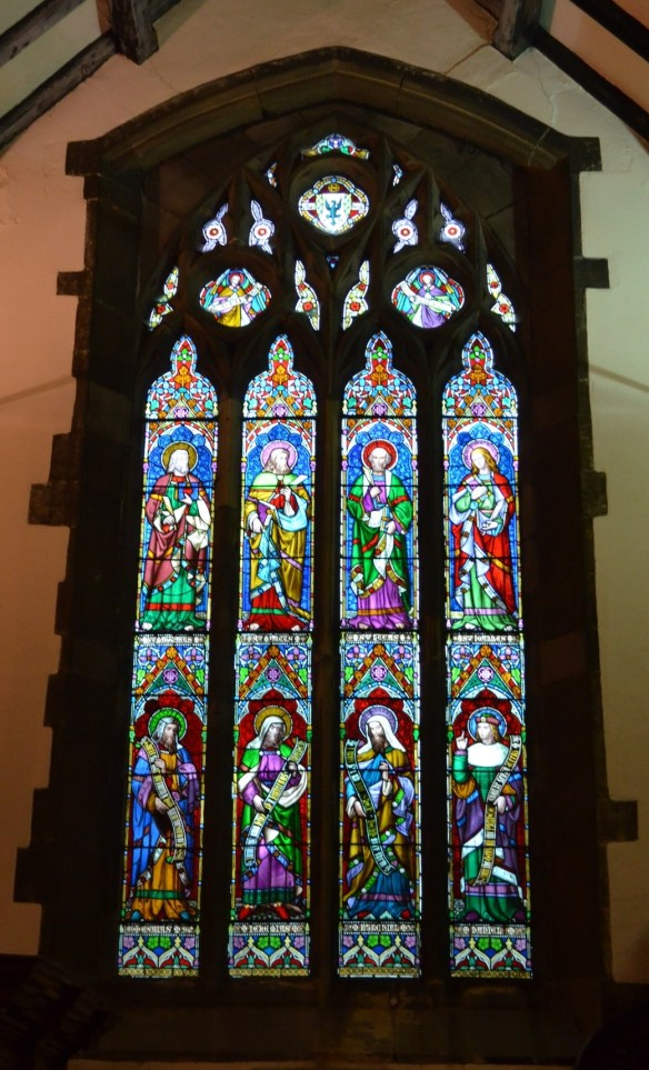 St Laurence window 2
