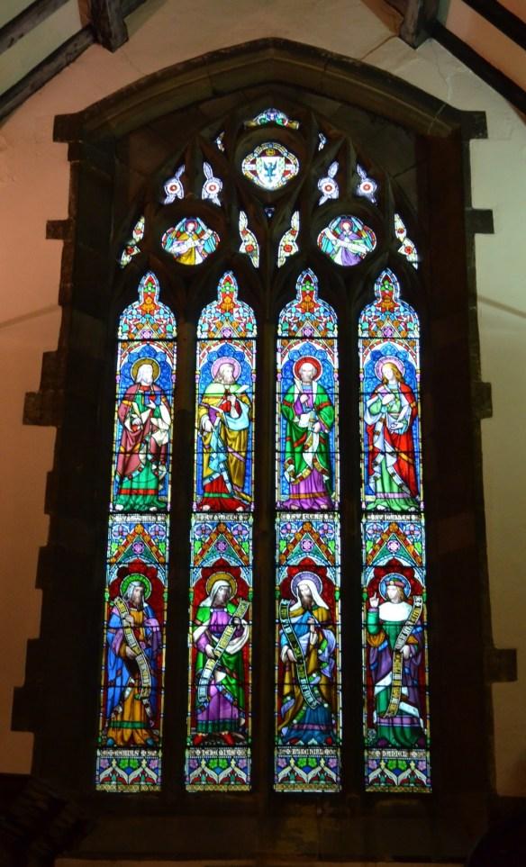 St Laurence window 2