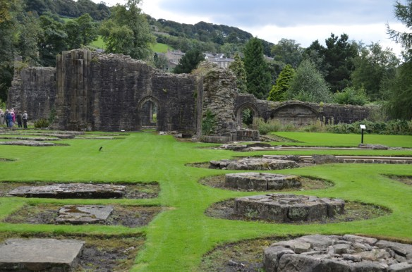 Whalley Abbey ruins
