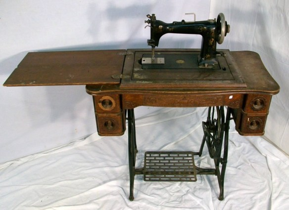 Wheeler and Wilson sewing machine