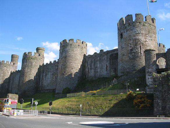 Conwy Castle exterior