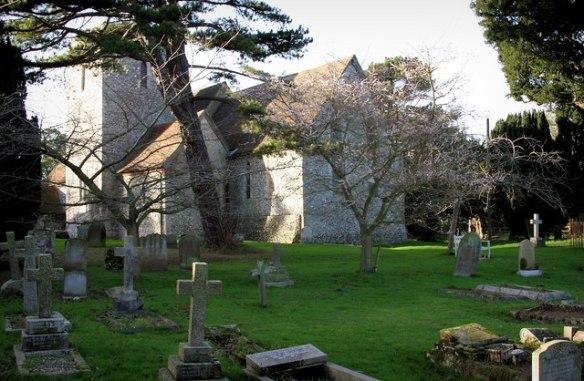 Upper Hardres church