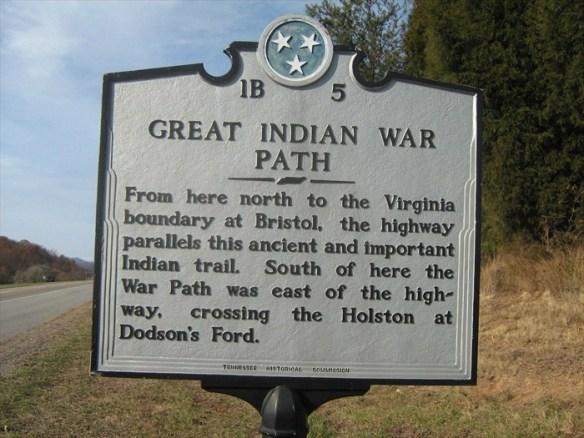 Indian war path