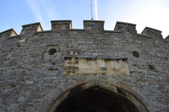 deal castle drawbridge holes