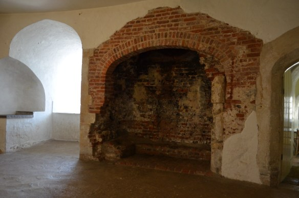 deal castle fireplace
