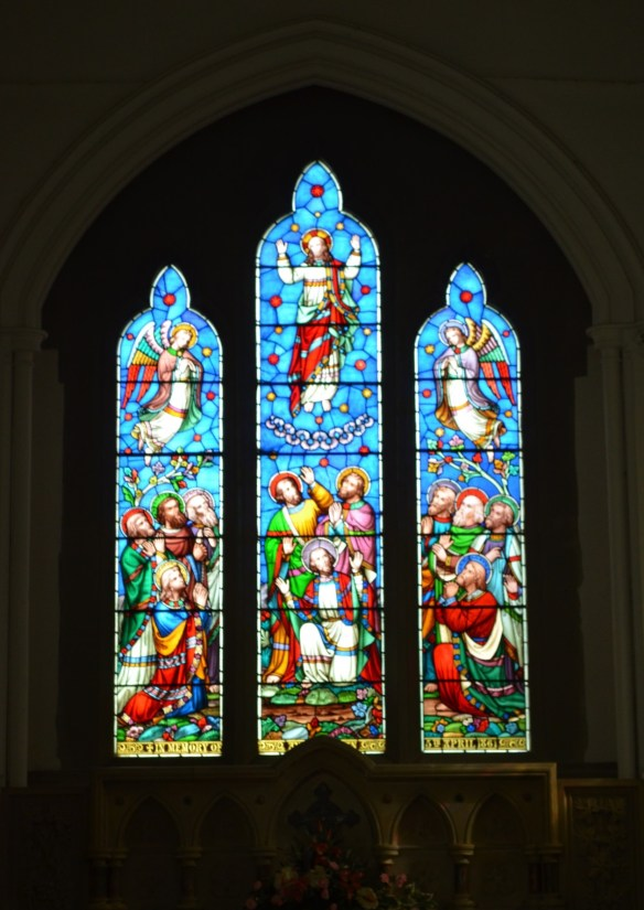 st leonard nave windows