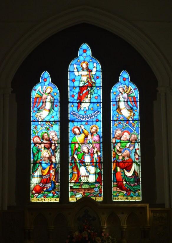 st leonard nave windows
