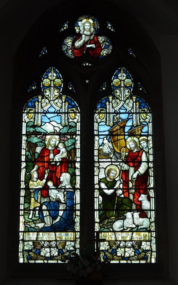 st leonard north window
