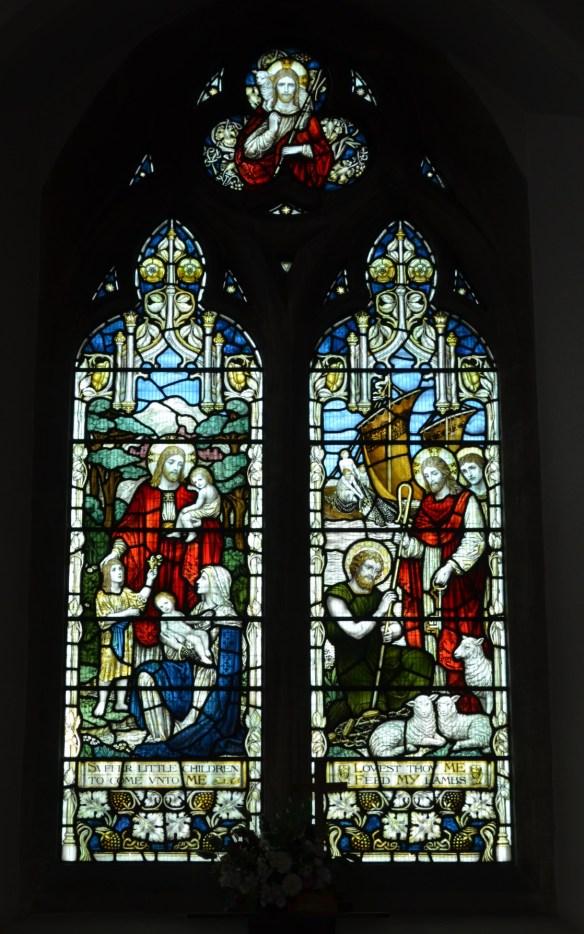 st leonard north window