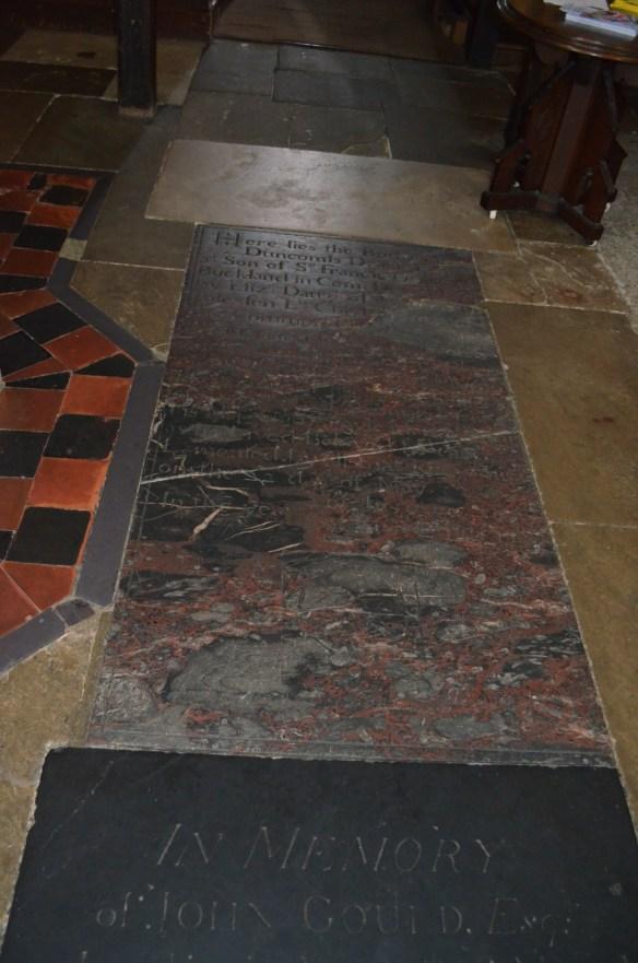 st leonard's floor burial