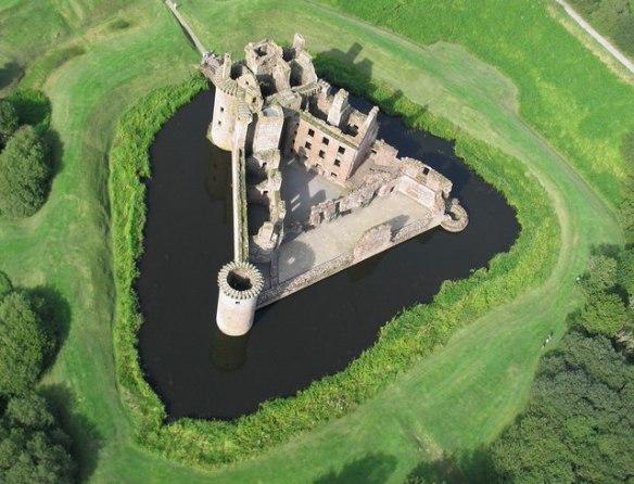caelaverick castle aerial