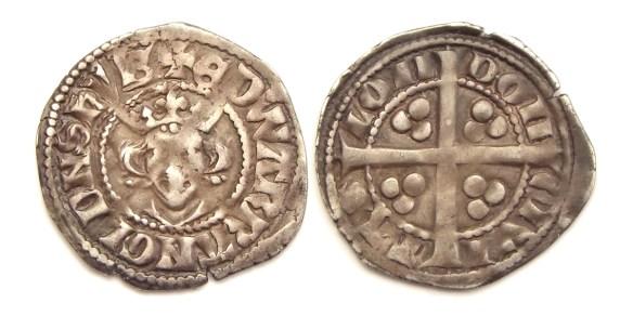 edward long cross penny