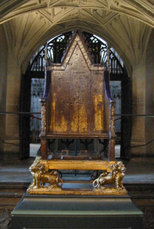 edward's coronation chair