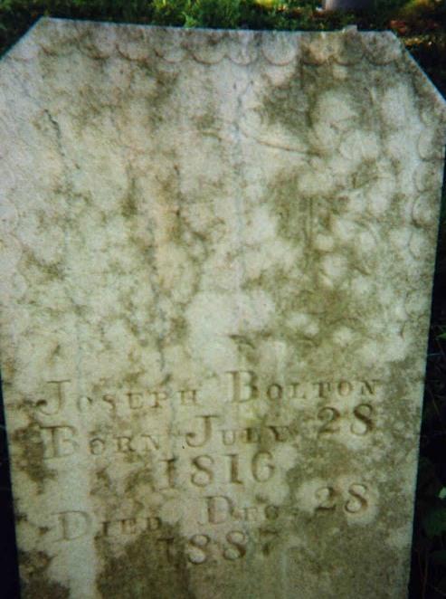 Joseph Bolton stone 2
