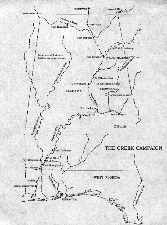 creek campaign map