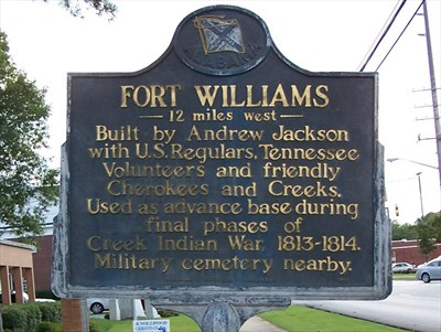 Fort Williams sign