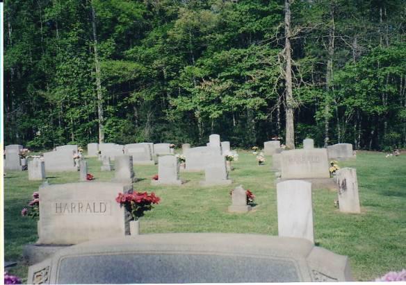 harrald cemetery 2 wilkes county