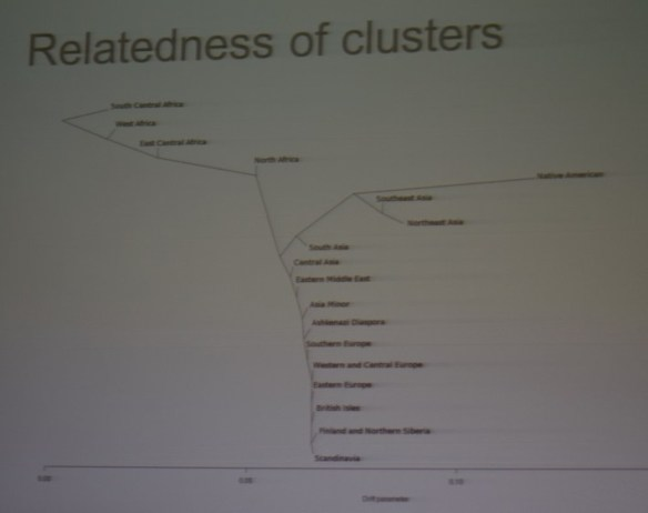 relatedness of clusters