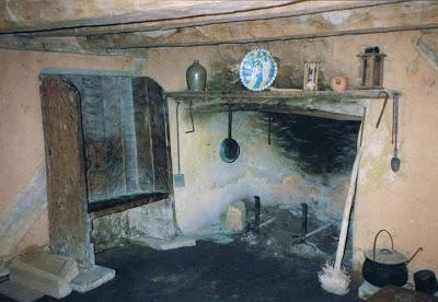 colonial fireplace Jamestown
