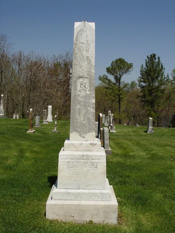 Dempsey headstone