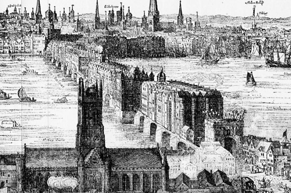 London Bridge 1616