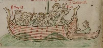 Henry III return from Poitou