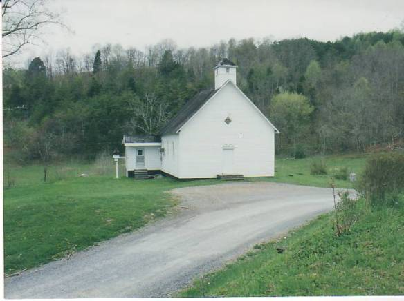 Speak Chapel from Cemetery