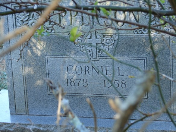 Cornie Estes Epperson stone