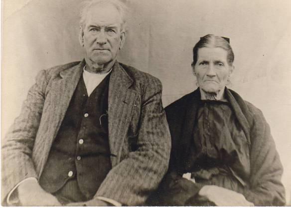 Lazarus Estes and Elizabeth Vannoy