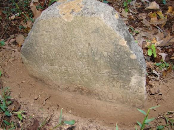 Martha Estes Norris stone