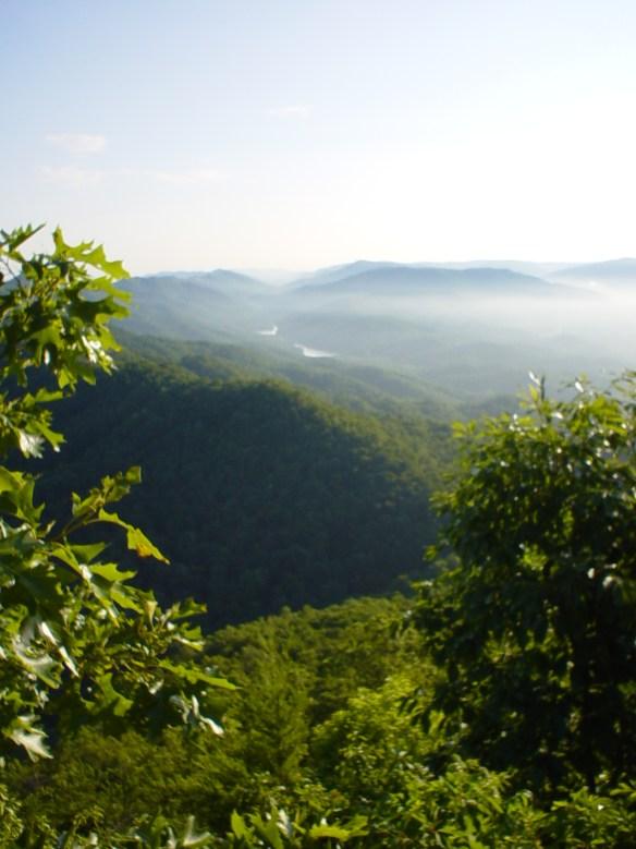 Cumberland Gap from pinnacle