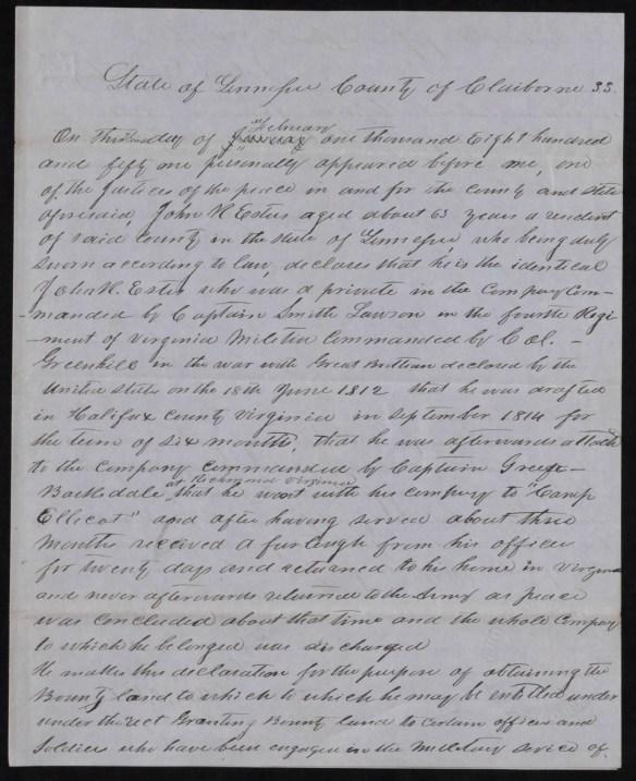 John R. Estes bounty app 1850