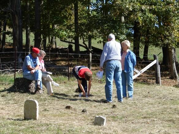 Upper Estes Cemetery 5 cousins