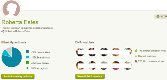 ancestry claim matches