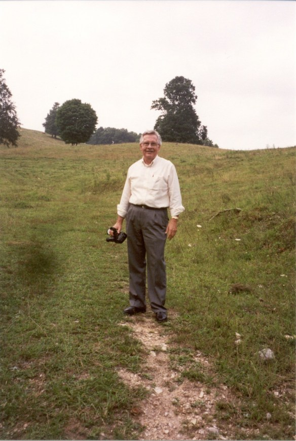Harold on Vannoy land