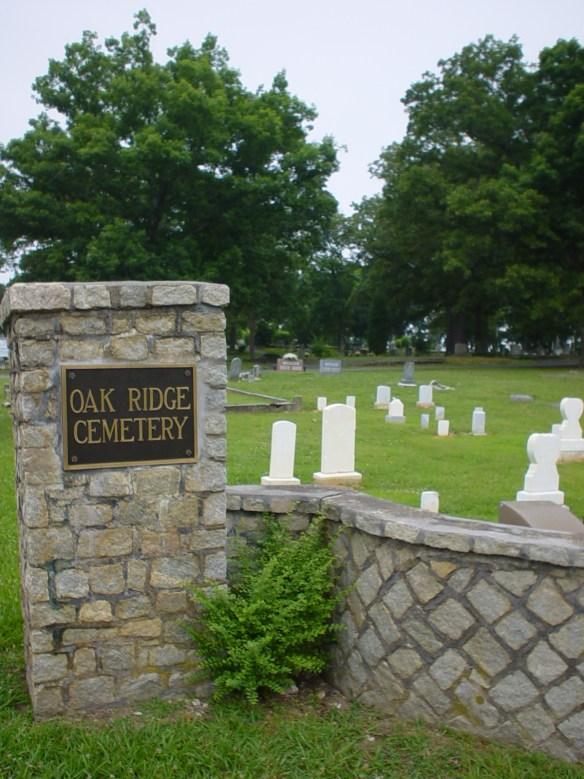 Oak Ridge entrance