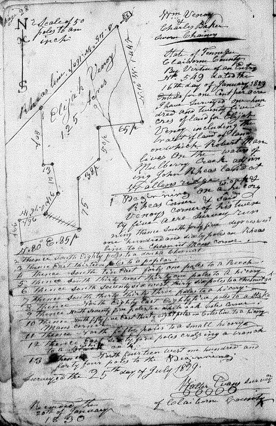 1830 Elijah grant
