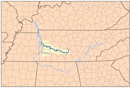 Duck River watershed