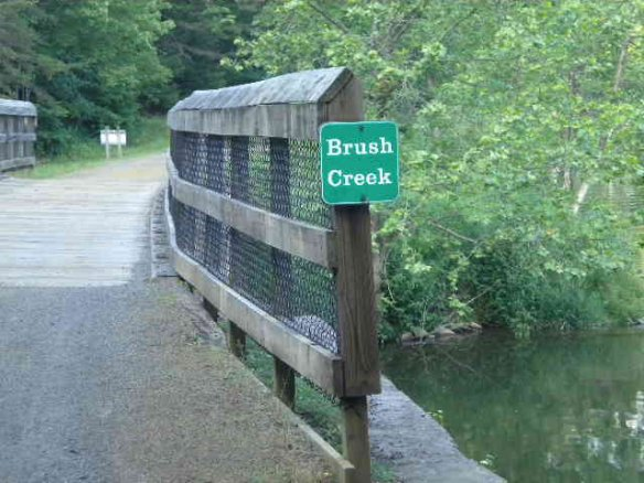 Brush Creek mouth
