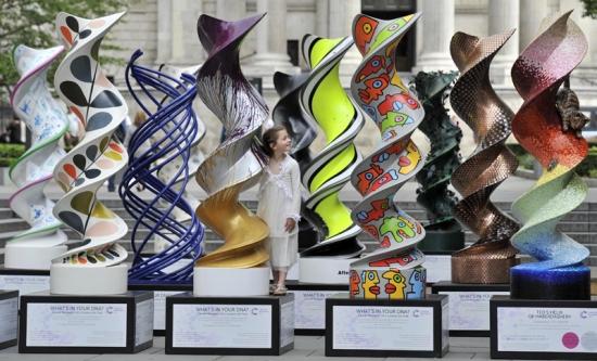 helix sculptures