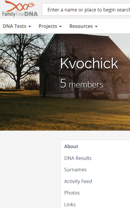 kvochick dna page