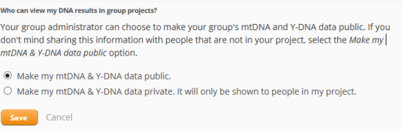 privacy and sharing group projects