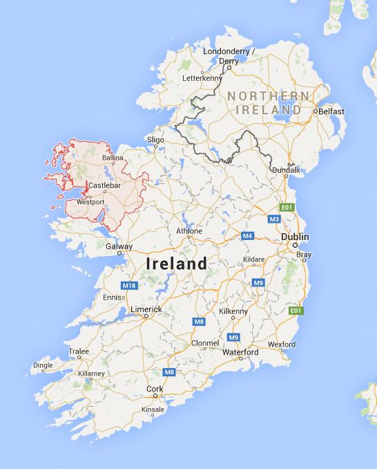 Mayo map